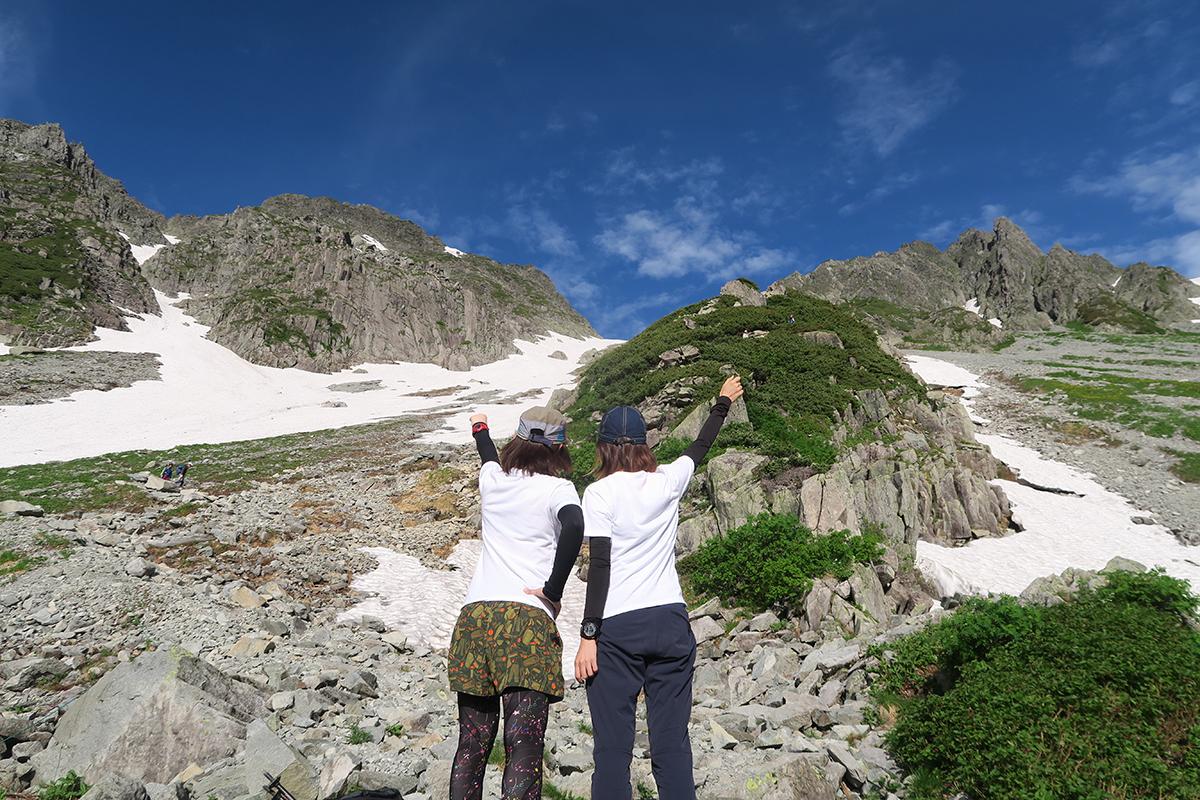 夏の山旅。